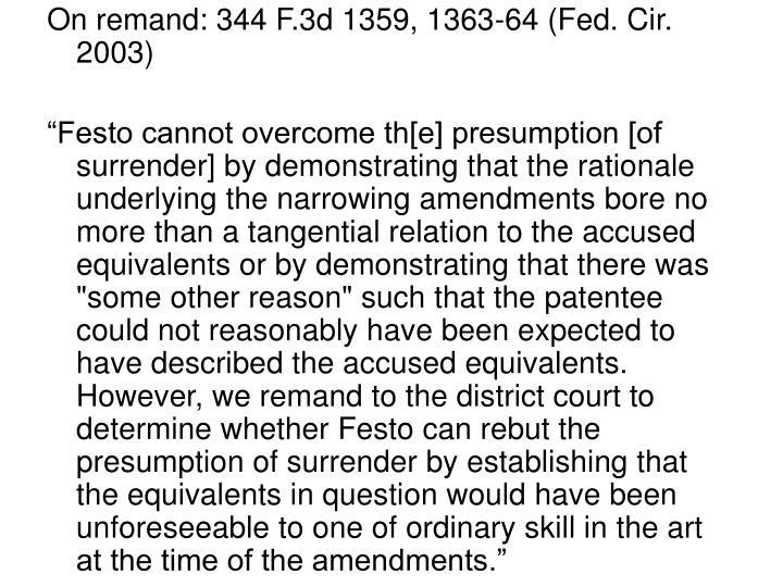 On remand: 344 F.3d 1359, 1363-64 (Fed. Cir. 2003)