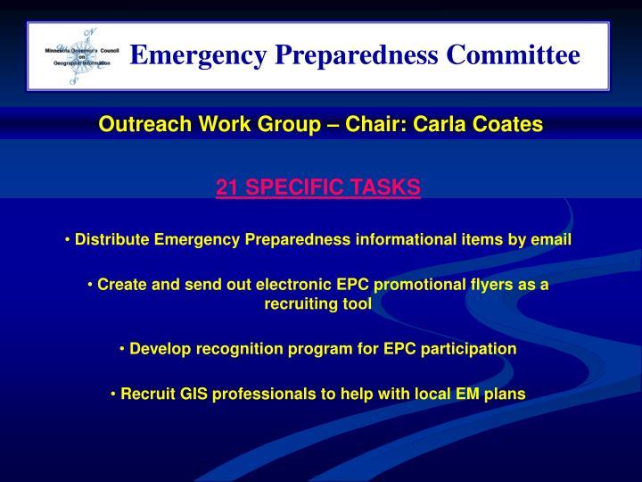 Emergency Preparedness Committee