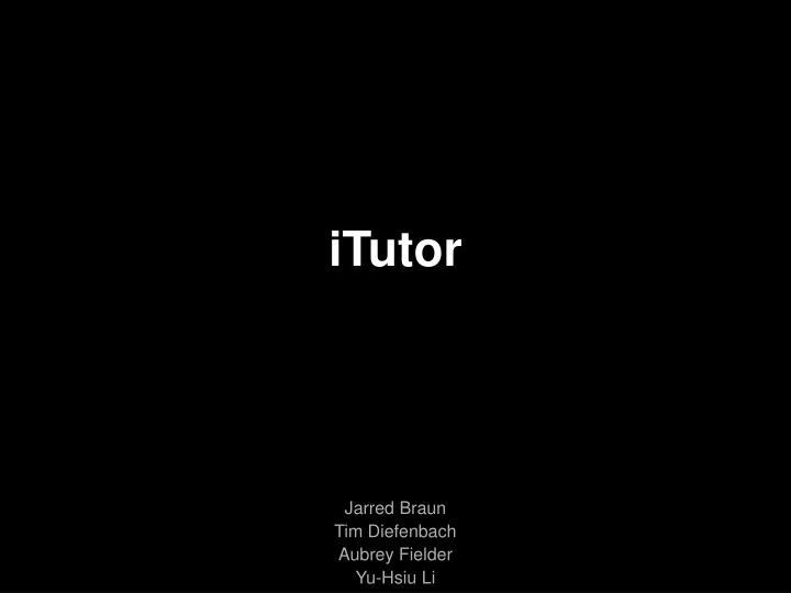 Itutor