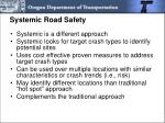 systemic road safety