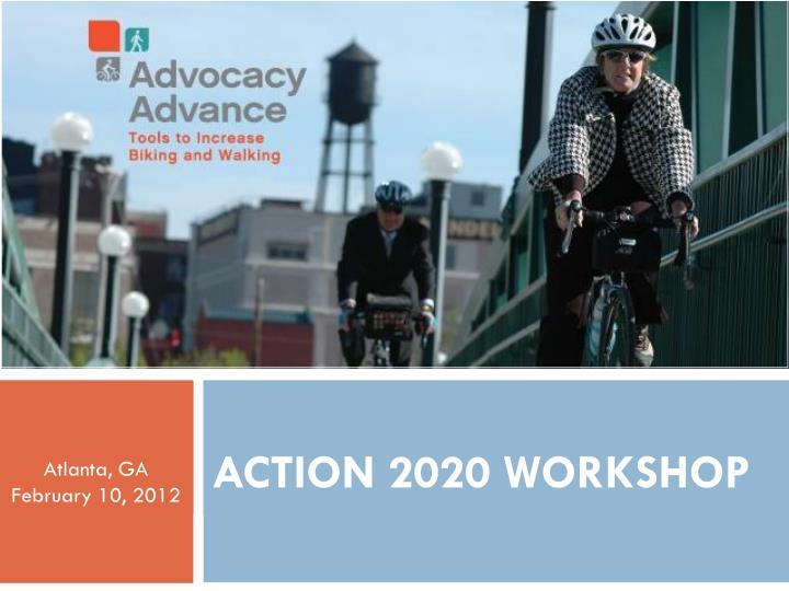 Action 2020 workshop
