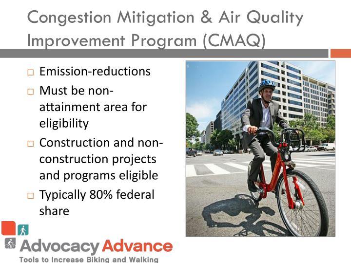 Congestion Mitigation & Air Quality Improvement Program (CMAQ)