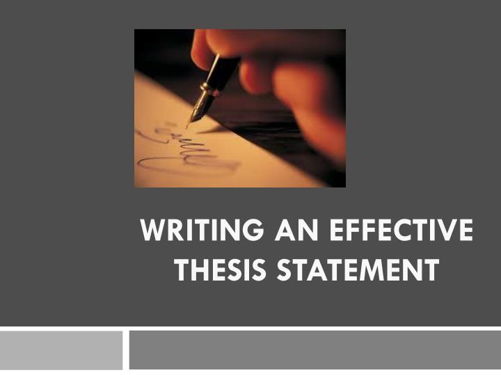writing a creative thesis Unleash your creativity and harness the power of words with a creative writing major from accredited, nonprofit southern new hampshire university.