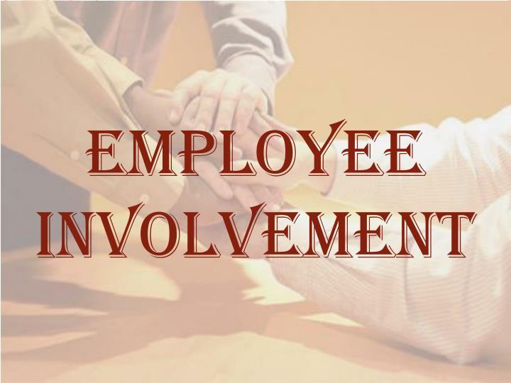 employee involvement n.