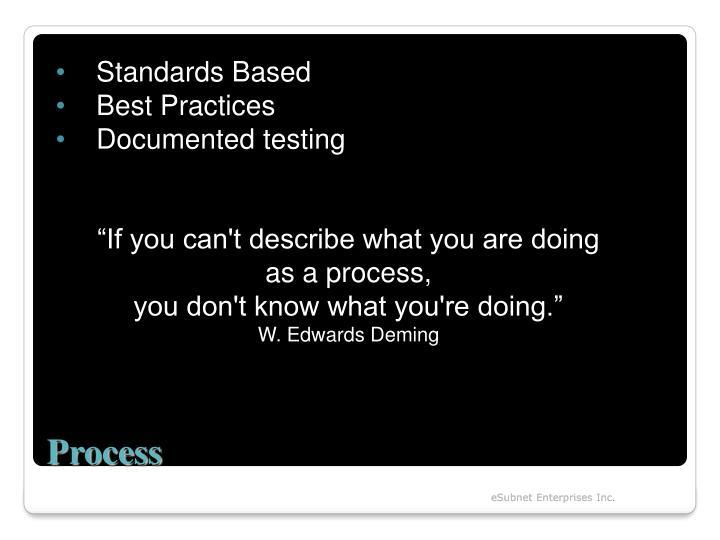 Standards Based