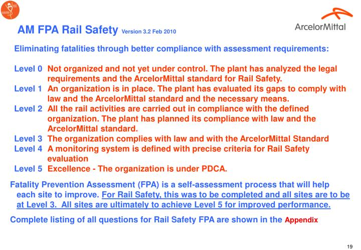 AM FPA Rail Safety