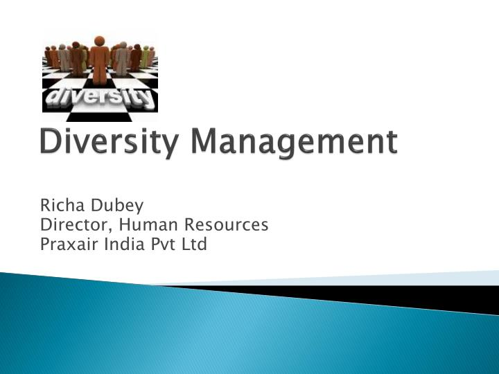 an analysis of the diversity in management