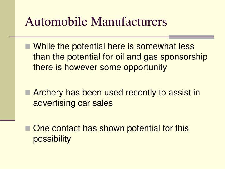Automobile Manufacturers
