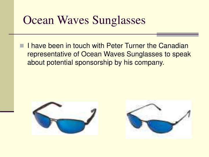 Ocean Waves Sunglasses
