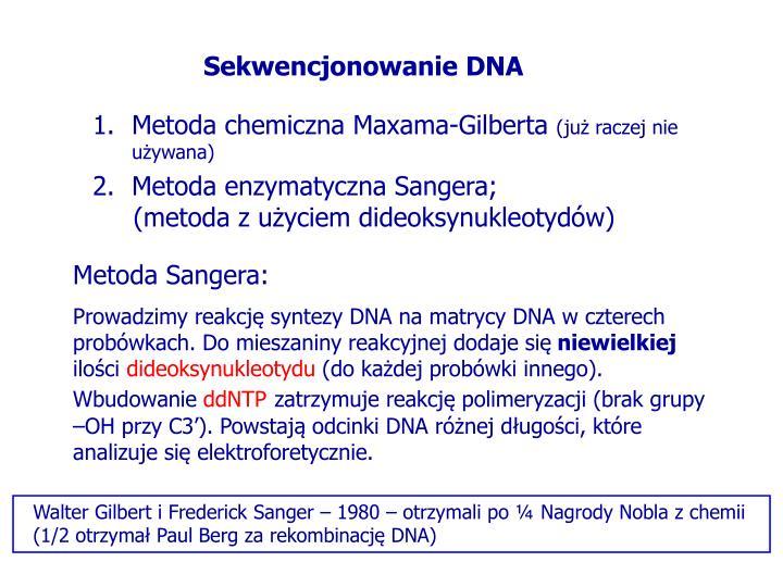Sekwencjonowanie DNA