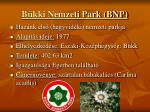b kki nemzeti park bnp