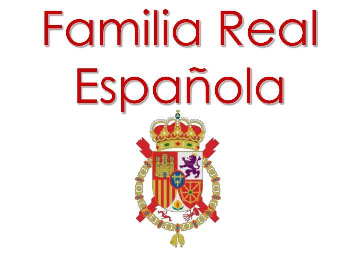 Familia real espa ola
