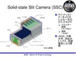 solid state slit camera ssc