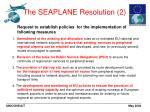 the seaplane resolution 2