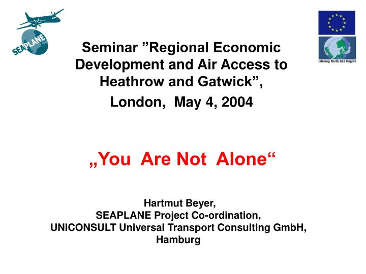 you are not alone n.