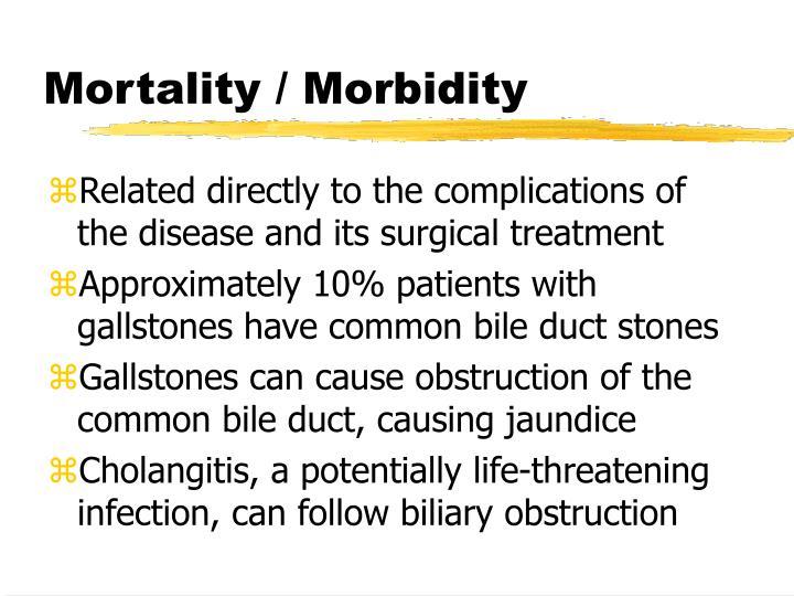 Mortality / Morbidity