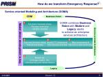 how do we transform emergency response2