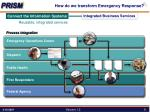 how do we transform emergency response3