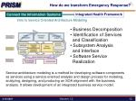 how do we transform emergency response5