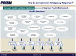 how do we transform emergency response8