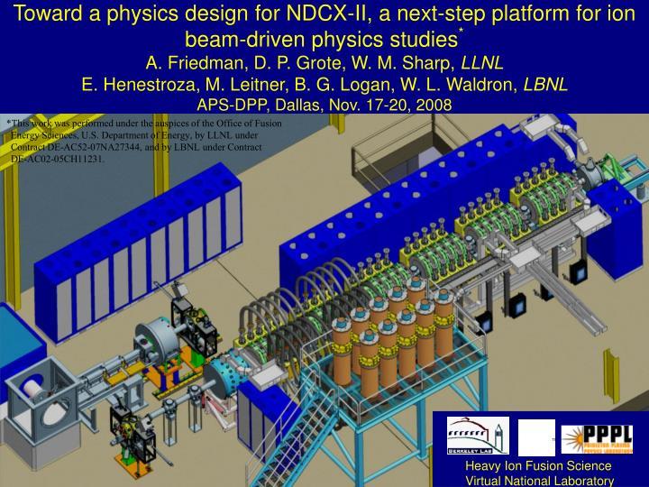 Heavy Ion Fusion Science
