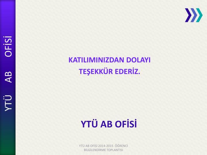 YTÜ AB OFİSİ