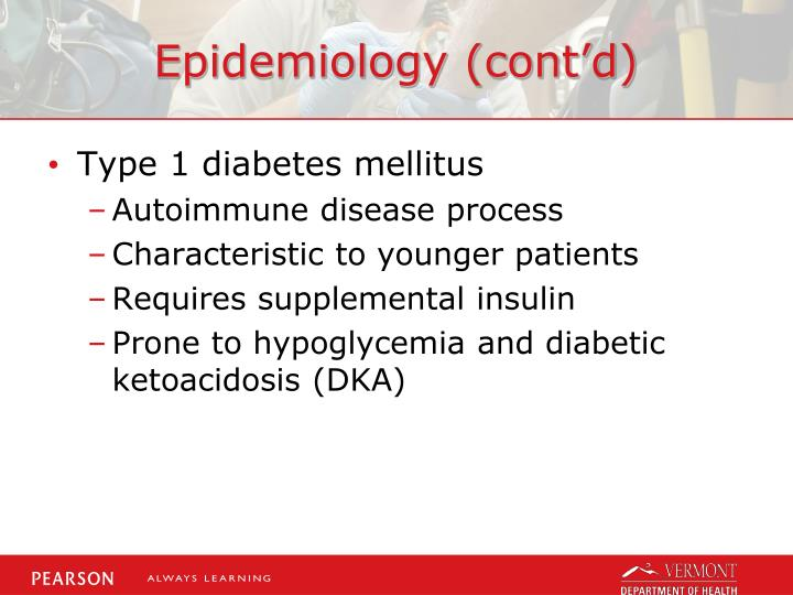 Epidemiology cont d