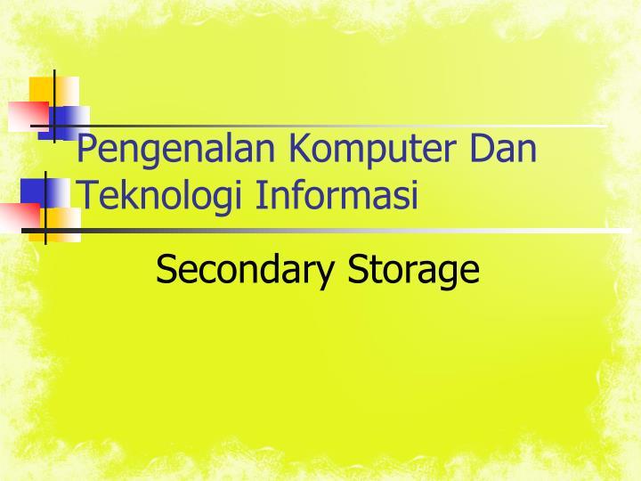 pengenalan komputer dan teknologi informasi n.
