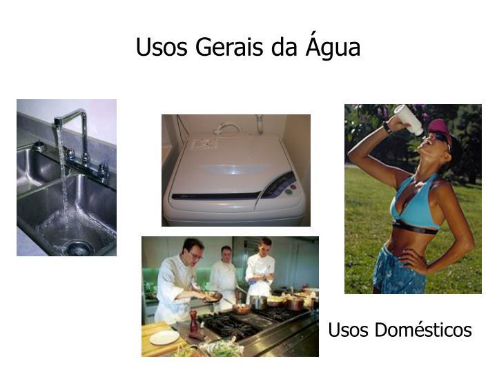 Usos Gerais da Água