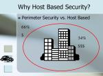 why host based security