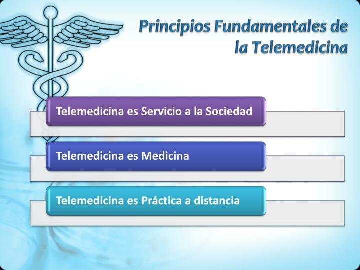 Principios Fundamentales de la Telemedicina