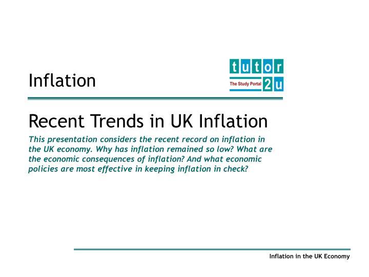 inflation n.
