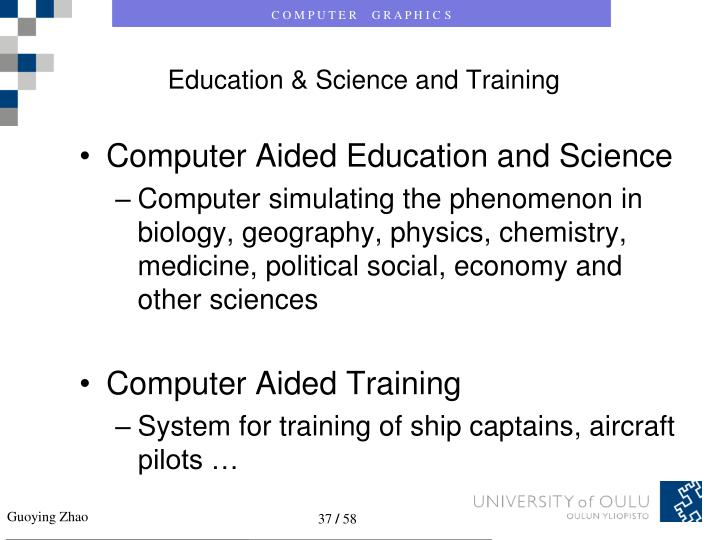 Education & Science and Training