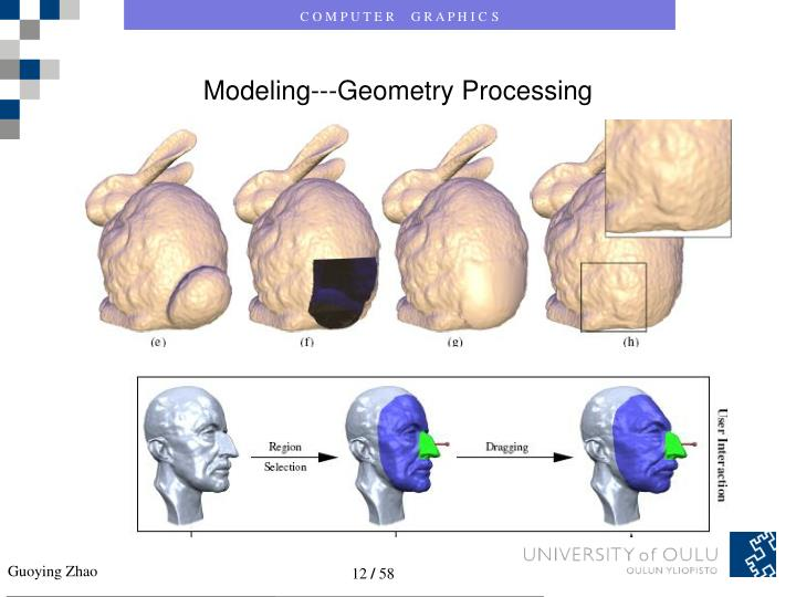 Modeling---Geometry Processing