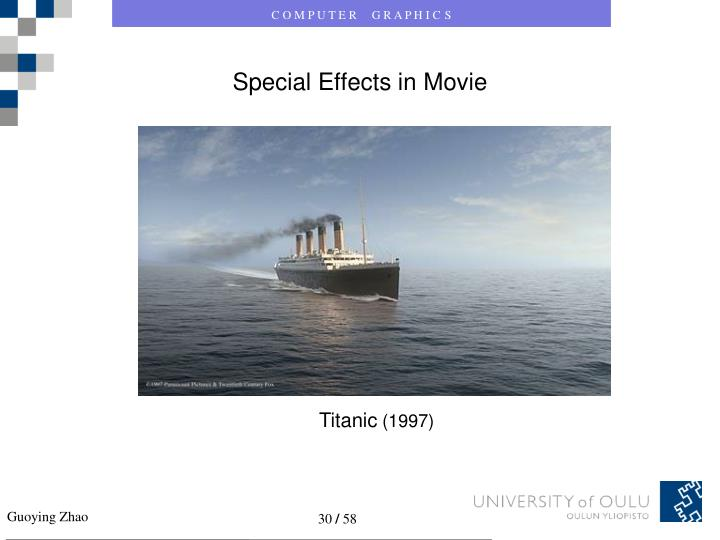 Special Effects in Movie