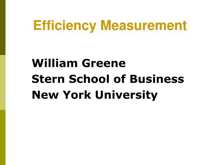 William greene stern school of business new york university