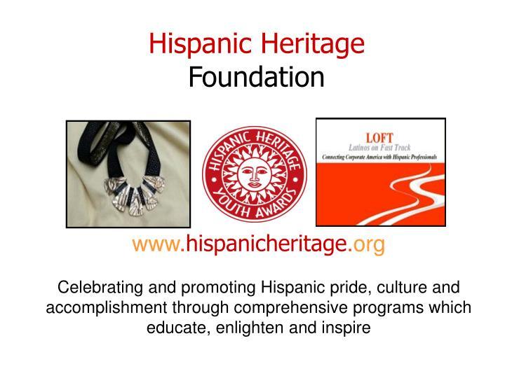 hispanic heritage foundation n.