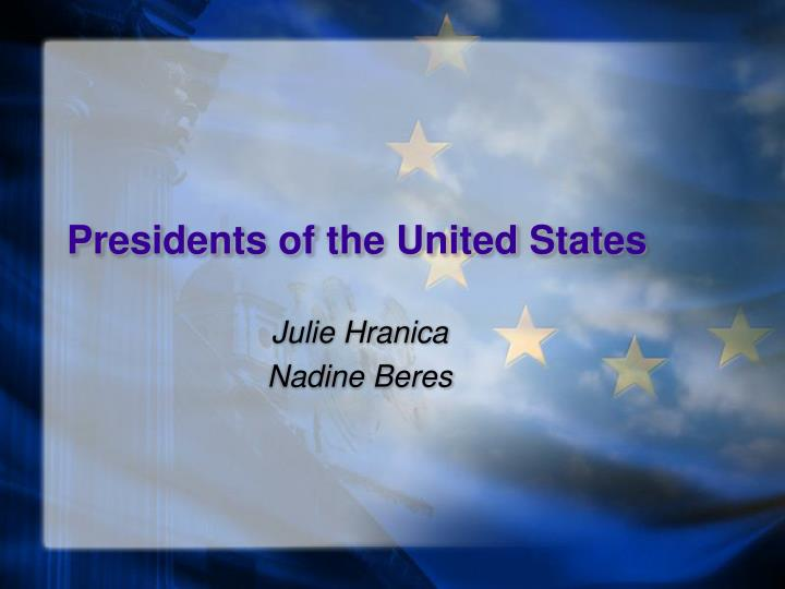 presidents of the united states n.