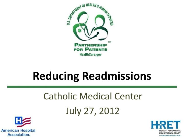 reducing readmissions n.