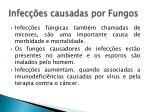 infec es causadas por fungos