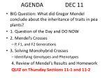 agenda dec 11