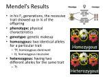mendel s results1