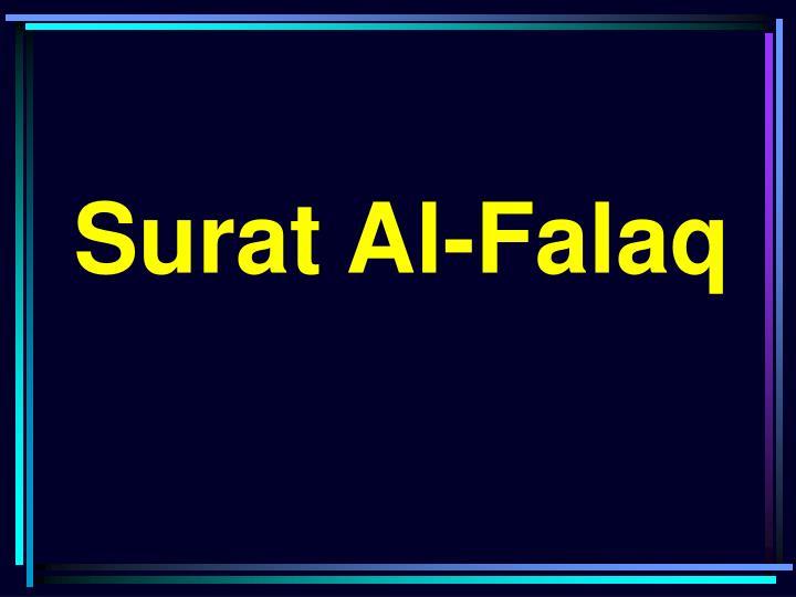 Ppt Surat Al Falaq Powerpoint Presentation Id3551521