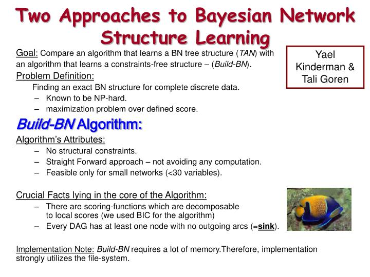 two approaches to bayesian network structure learning n.