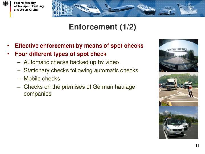 Enforcement (1/2)