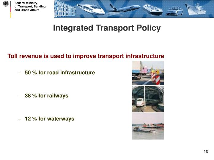 Integrated Transport Policy