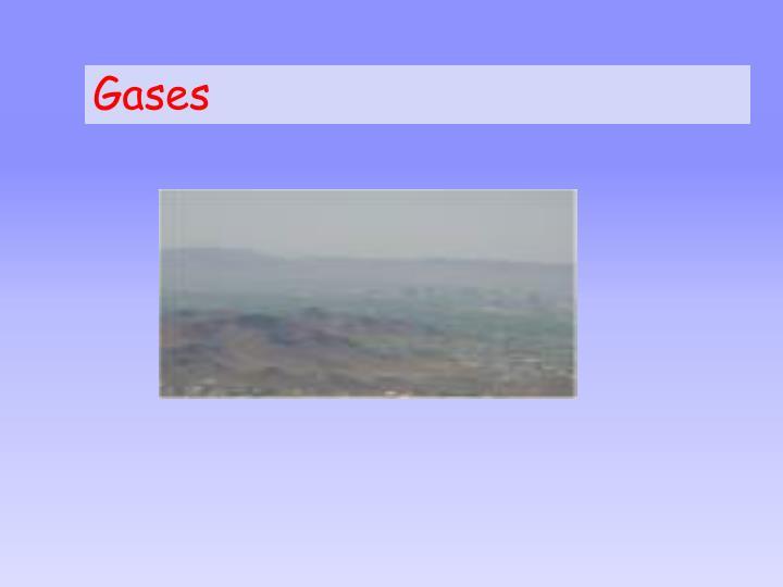 gases n.