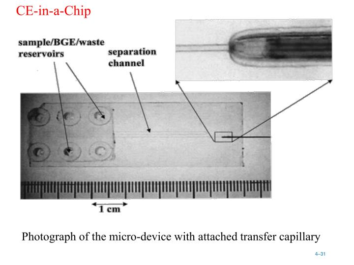 CE-in-a-Chip