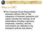 what is csr2