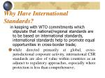 why have international standards2